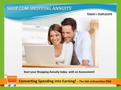 Start your Shopping Annuity today with an Assessment #shoppingannuity