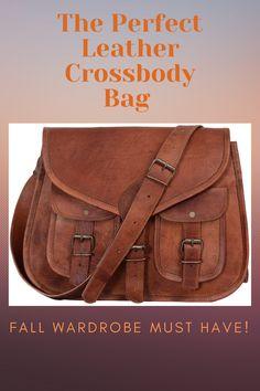 Amazon Prime Day Deals, Autumn Fashion, Women's Fashion, Fall Wardrobe, Fall Season, Clothing Items, Leather Crossbody Bag, Messenger Bag, Nice Dresses