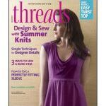 Threads Magazine - Issue 167 - June/July 2013 I have been wanting to sew this Butterick 5778 Knit Dress for ages.