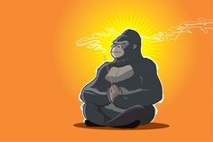 Quiet Your Monkey Mind. Brought to you by NetFills.com