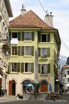 Fontaine Vevey - Suiza