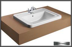 Lavoar incastrabil Noble 58 x 45 cm Sink, Home Decor, Sink Tops, Vessel Sink, Decoration Home, Room Decor, Sinks, Interior Design, Home Interiors