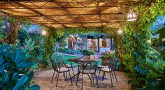 Villa San Teodoro is the ideal country retreat, with a beautiful garden,superb pool and magnificent sea views on Tirrenyan near Cefalù. Sicily, Villas, Beautiful Gardens, Coast, San, Patio, Country, Luxury, Outdoor Decor