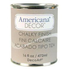DecoArt Americana Decor 16-oz. Primitive Chalky Finish-ADC26-83 at The Home Depot