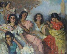 The Fortune-Teller, Seville
