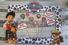 Paw Patrol Party, Paw Patrol Birthday, 4th Birthday Parties, 3rd Birthday, Paw Patrol Decorations, Party Photo Frame, Cumple Paw Patrol, Prince Party, Baby Party