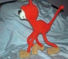 Симпотяга рыжий кот - Ярмарка Мастеров - ручная работа, handmade
