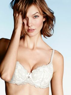 Cut low for your more daring looks. // Victoria's Secret Demi Bra