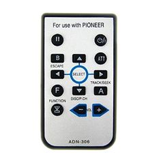 vÄ°ntage kex 73 pÄ°oneer car stereo vintage remote control for pioneer avh p5700dvd car stereo