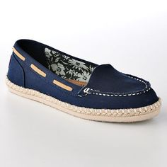 Skechers BOBS Anchorage Flats; Navy