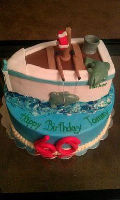 Life Boat Cake wwwbakingmaidcom Creative Cakes Cookies