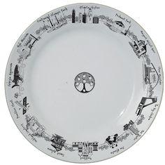 Atlanta Round Platter
