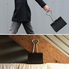 Binder clip bag—crazy or cool?