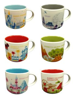 Fun New Mugs Coming To Disney World In 2016 Inspired By
