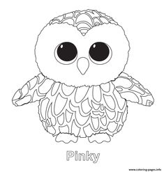 bunny beanie boo coloring pages - photo#17