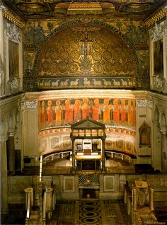 San Clemente. 2000 years of history! Italy Basilica San Clemente is a Church in Rome near Colosseum
