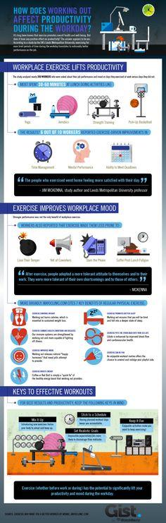 El ejercicio mejora la productividad