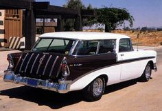 56 chevy bel air nomad wagon