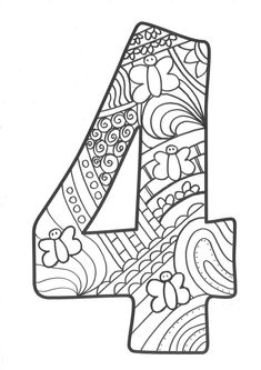 50 Boho – Tribal – Gypsy Ai Brushes by Marish on Creative Market Creation Coloring Pages, Colouring Pages, Coloring Sheets, Number Crafts, Coloring Letters, Fabric Cards, Numbers Preschool, Binder Organization, Math For Kids