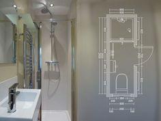 small shower room ideas shower room ideas and design ideas small wet room tiling ideas Loft Bathroom, Narrow Bathroom, Tiny Bathrooms, Bathroom Design Small, Bathroom Layout, Bathroom Interior, Modern Bathroom, Bathroom Ideas, Bathroom Renovations