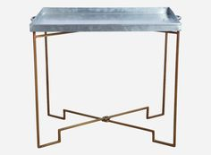 Bakkebord, 39x50 cm, h.: 50 cm (sammenklappelig)  House Doctor