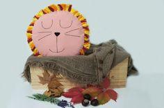 Lion Pillow, Decorative Pillow, Animal pillow, kid pillow, children pillow