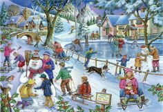 House Of Puzzles 1000 PIECE JIGSAW PUZZLE - Frosty & Friends Find The Difference in Toys & Games, Jigsaws & Puzzles, Jigsaws   eBay