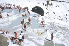 Let's Spend All Winter in These Incredible Turkish Thermal Pools  - HouseBeautiful.com