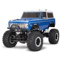 Tamiya 1973 Ford Bronco. Or at least the body of a Bronco. Anyone have a ladder ?