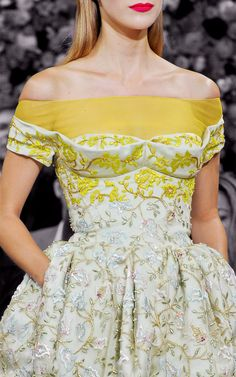 Dior. incredible detail.