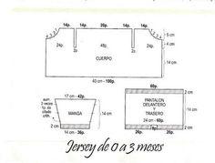 SOLO ROPITA DE BEBE EN PUNTO, GANCHILLO Y TELA (pág. 2677)   Aprender manualidades es facilisimo.com