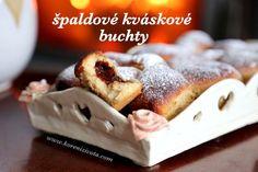 špaldové kváskové buchty plněné třeba povidly Doughnut, Pancakes, French Toast, Breakfast, Sweet, Food, Diet, Morning Coffee, Candy