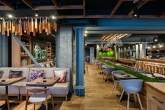 Murakami Restaurant by Seventh Studio, London – UK » Retail Design Blog