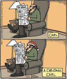 Carl ..... A Christmas Carl --- Groan!☺ | The Argyle Sweater on GoComics