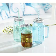 Pacifica Mason Jar Tumbler