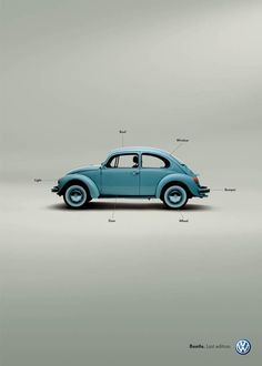 Since the 60s, Volkswagen has always incorporated similar elements into their advertising strategy. They use honesty, minimalism and clever one liners to captivate their consumers. This new VW advert works because it is so classic. Anyone can recognize a VW ad when they see it. It doesn't need to shout to get the message across because they are better than that.