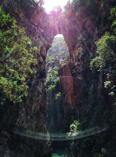 God's Bridge - Akchour, Morocco