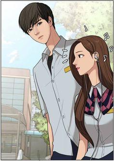 Jugyeong x Suho - True beauty Webtoon Suho, Anime Love Couple, Cute Anime Couples, Manhwa, Girls Of The Wilds, Angels Beauty, Webtoon Comics, Anime Style, True Beauty