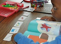 sequencing cards-snowy day