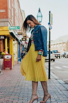 Spring Fashion Trends – Fashion for Women – Rainbow Outfit Ideas – Spring Style Ideas – heartandseam.com #heartandseam #rainbow #springstyle