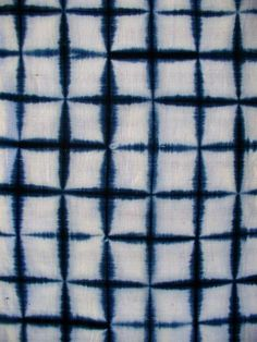 HOMESPUN, HANDWOVEN COTTON,  BOTANICAL INDIGO  ARIMATSU, EARLY 20C