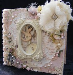 life as a scrapper: Prima Fairy Belle binder album