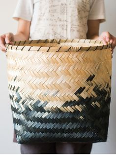 Bamboo Weaving, Hand Weaving, Rattan, Wicker, Bamboo Basket, Sustainable Living, Storage Baskets, Potted Plants, Old And New