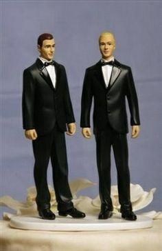 Gay Cake TopperSame Sex TopperGay Wedding