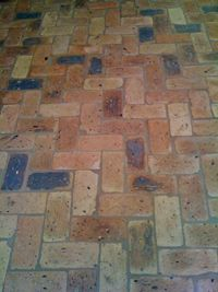 Things My Mom Would Love—My New Brick Tile Kitchen Floor