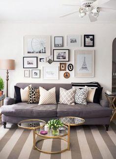 2016 트렌드 키워드를 적용한 '아파트 거실 인테리어' 2015년 황동 재질을 시작으로 꾸준한 사랑을 받고 있...