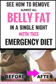 SEE HOW TO REMOVE ALMOST ALL BELLY FAT IN A SINGLE NIGHT WITH THIS EMERGENCY DIET!!!~