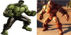 Compare Juggernaut vs hulk