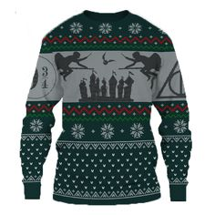 This ugly Sweater is Not available in other stores! Premium Microfiber Polyester HD All-Over Graphic Print Hand wash in cold water Harry Potter Christmas Sweater, Christmas Sweaters, Christmas Clothes, Yer A Wizard Harry, Nerd Fashion, Ugly Sweater, Graphic Prints, Fall, Closet