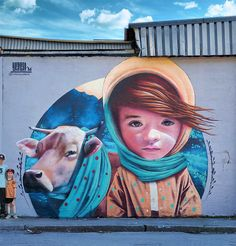 Beautiful Street Art by Linus Lundin aka Yash - how to draw